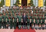 Chủ tịch nước gặp mặt gương điển hình của phụ nữ quân đội