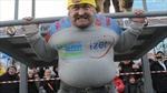 Người khỏe nhất nước Nga kéo theo ngôi nhà 30 tấn
