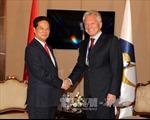Thủ tướng gặp Chủ tịch Ban Thường trực Ủy ban Kinh tế Á - Âu