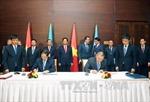 Bộ Tư pháp Việt Nam-Kazakhstan ký văn kiện hợp tác
