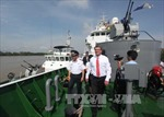 Bộ trưởng Quốc phòng Mỹ thăm Bộ Tư lệnh Hải quân