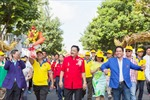 10.000 người đi bộ ủng hộ đội tuyển Việt Nam dự SeaGames 28