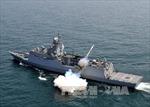 Quân đội Hàn Quốc tập trận bắn đạn thật trên biển