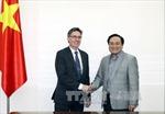 Đồng chí Hoàng Trung Hải tiếp Phó Chủ tịch WB