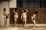 Võ sĩ Sumo nhí Nhật Bản khổ luyện