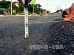 Khắc phục tình trạng hằn lún trên quốc lộ 1, đường Hồ Chí Minh
