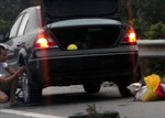 'Đinh tặc' lộng hành trên tuyến đường nối Vị Thanh - Cần Thơ