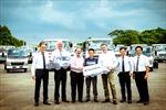 FUSO Việt Nam bàn giao xe tải cho DB Schenker