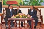 Đoàn đại biểu cấp cao Đảng ta thăm Siem Reap