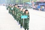 260 'chiến sỹ nhí' xuất quân tham dự Học kỳ trong quân đội