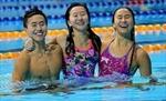 Ba chị em đội bơi Singapore giành 21 huy chương