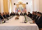 Đàm phán hạt nhân Iran tạm ngừng