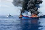 Palau đốt 4 tàu cá Việt Nam