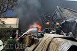 Đang khống chế đám cháy nổ trong KCN Hoàng Gia, Long An