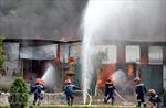 Cháy xưởng sản xuất chăn bông