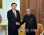 Chủ tịch Quốc hội Trung Quốc thăm Ấn Độ