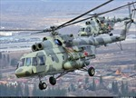 Nga cấp 12 trực thăng quân sự cho Belarus