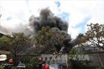 Kịp thời khống chế đám cháy ở Công ty DAWON Vina