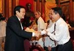 Chủ tịch nước gặp mặt đại diện các cơ quan báo chí