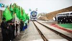 Iran đón chuyến tàu hàng đầu tiên trên 'Con đường tơ lụa'