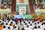 Kỷ niệm ngày Quốc tế Yoga lần thứ nhất tại Hà Nội