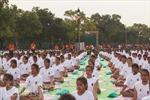 Ấn Độ hưởng ứng Ngày Quốc tế Yoga vì sức khỏe