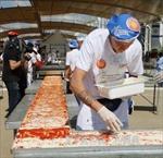 Italy lập kỷ lục mới về chiếc pizza dài nhất thế giới