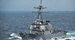 Tàu khu trục tên lửa Mỹ vào Biển Đen