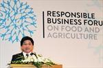 """""""Diễn đàn kinh doanh có trách nhiệm đối với lương thực và nông nghiệp"""" lần thứ 2"""