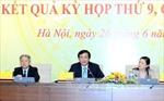 Kỳ họp thứ 9 giải quyết nhiều vấn đề quan trọng của đất nước