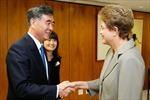 Tổng thống Brazil tiếp Phó Thủ tướng Trung Quốc