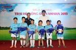 Bế mạc trại hè bóng đá Yamaha 2015 tại Hà Nội