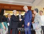 Tổng Bí thư Nguyễn Phú Trọng tiếp nguyên Tổng thống Bill Clinton