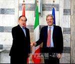 Chủ tịch MTTQ Việt Nam gặp Bộ trưởng Ngoại giao Italy