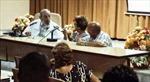 Lãnh tụ Fidel Castro dự hội nghị công nghiệp thực phẩm