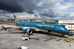 Vietnam Airlines chào đón máy bay B787-9 Dreamliner tới Heathrow