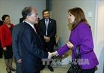 Đồng chí Nguyễn Sinh Hùng tiếp Phó Chủ tịch Quốc hội Cuba