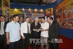 Tổng Bí thư thăm Triển lãm thành tựu kinh tế - xã hội năm 2015