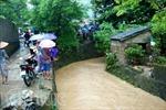 Quảng Ninh: Mưa to, một người mất tích