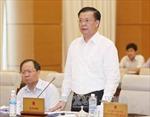 Cho ý kiến dự án Luật thuế xuất nhập khẩu (sửa đổi)
