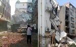 Hiện trường 17 vụ nổ bom rúng động Trung Quốc