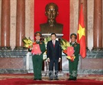 Thăng quân hàm Đại tướng cho đồng chí Ngô Xuân Lịch và Đỗ Bá Tỵ