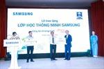 """Khánh thành """"Lớp học thông minh"""" thứ 7 của Samsung tại Việt Nam"""