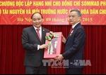Trao Huân chương Độc lập hạng Nhì cho Bộ trưởng Lào
