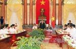 Chủ tịch nước tiếp Đoàn đại biểu các Hội thánh Cao đài Việt Nam