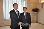 Bộ trưởng Công an Trần Đại Quang hội đàm với người đồng cấp Trung Quốc