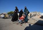 IS bị đẩy lùi, người dân Syria trở về làng quê