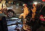 Xe Mercedes tông nát đầu Lexus trên đường Trần Quang Khải