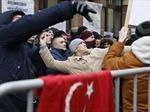 Đại sứ quán Thổ Nhĩ Kỳ tại Moskva bị ném đá, trứng