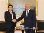 Chủ tịch nước hội đàm với Tổng thống Đức